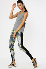 Flash Denim Full Length Leggings