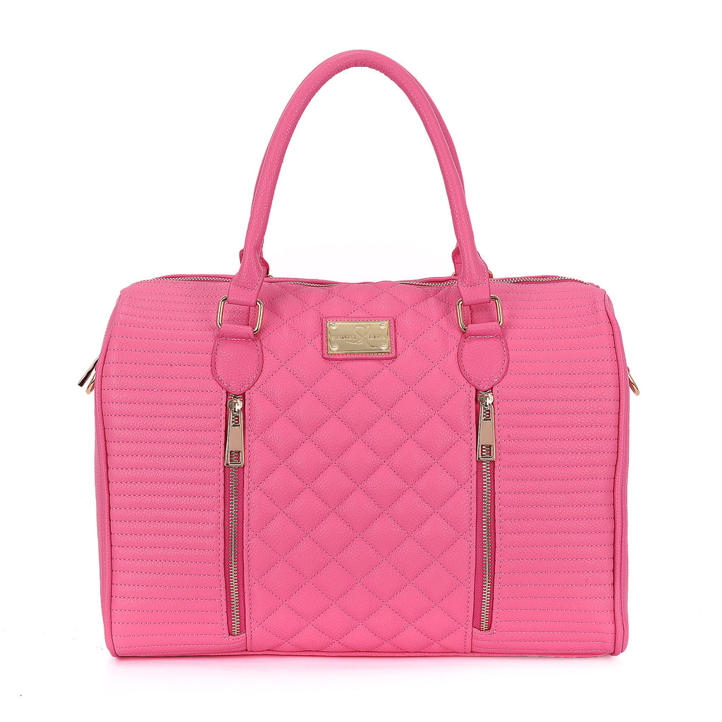 Siena Quilted Tote
