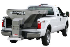 Buyers SaltDogg 1400601SS 2 Cubic Yard Electric Stainless Hopper Spreader