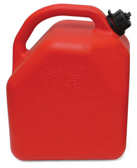 "ITD7041 - 5-Gallon Plastic ""Gas"" Can (Red)"