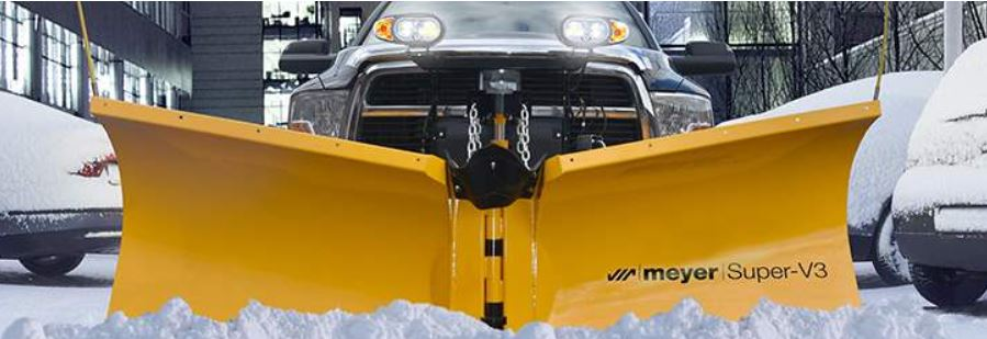 "Meyer 53700 SOS Pkg: Super-V3 9'6"" Snow Plow"