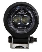 "MWL-10SP-SM Maxxima 2"" Round Mini Bracket Mount Work Light"