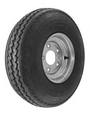 "WA-5SS - 5.70x8 LOAD RANGE ""D"" (1070 lb -- 488 kg)   CARLISLE TIRE ON  STEEL WHEEL"