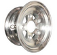 WA-WDA - WHEEL ALUMINUM, SLOTTED, DIAMOND-CUT FINISHED, POWDER COATED
