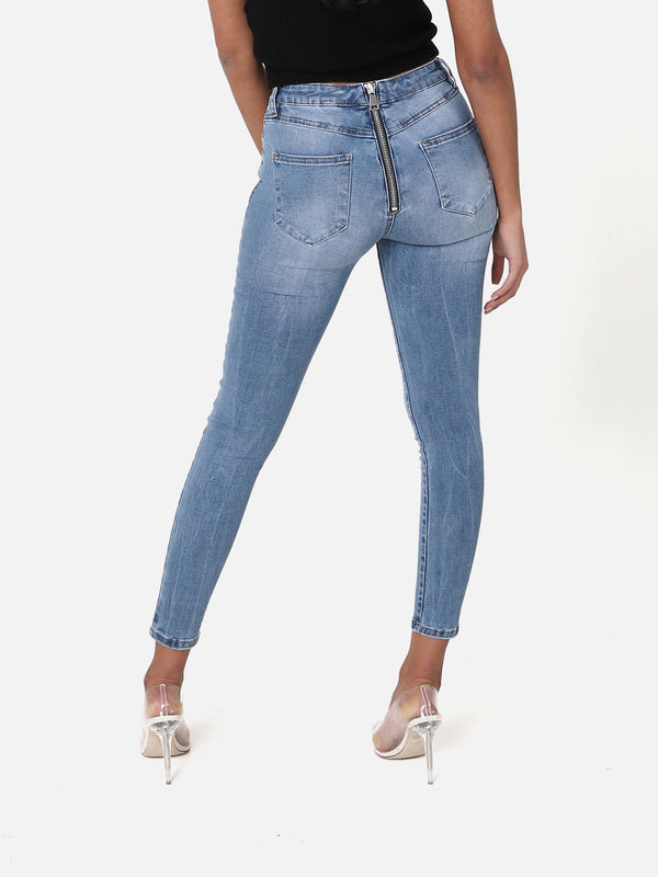 Bottom Zip Jeans II