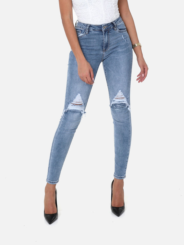 Noisy Cut Jeans, 9506-2