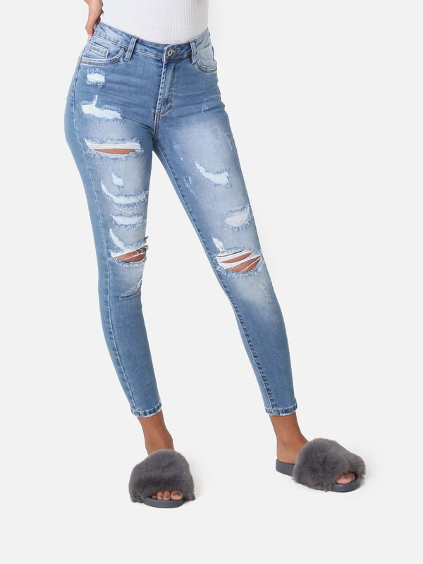 Stitched Jeans, 586