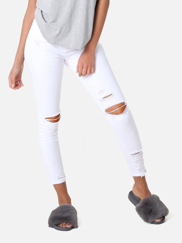 Destroyed Jeans White, 9205-B
