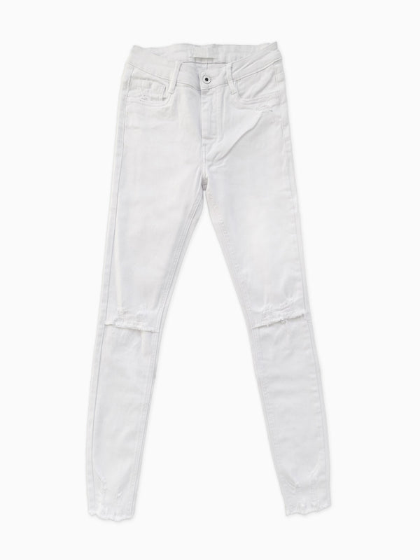 Destroyed Jeans - White