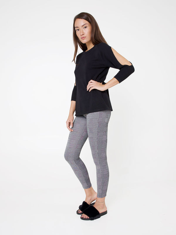 Leggings mit Karo-Muster