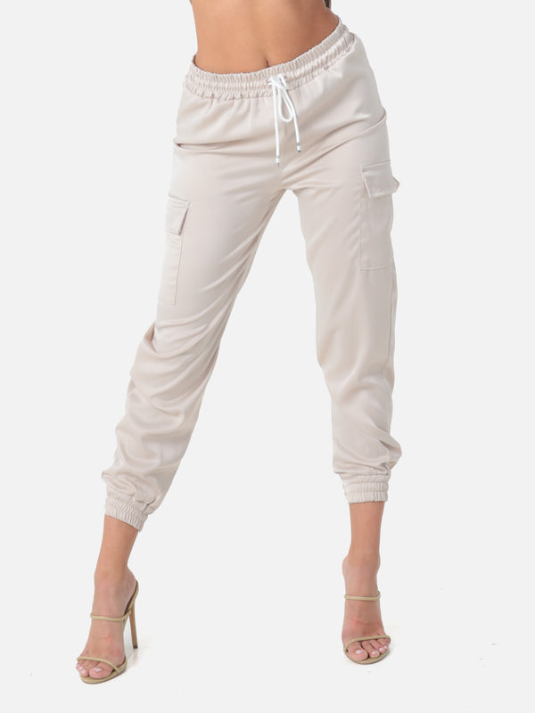 Satin Jogginghose