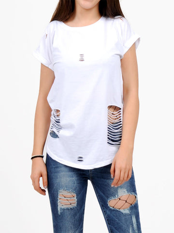 T-Shirt mit Cut-Outs