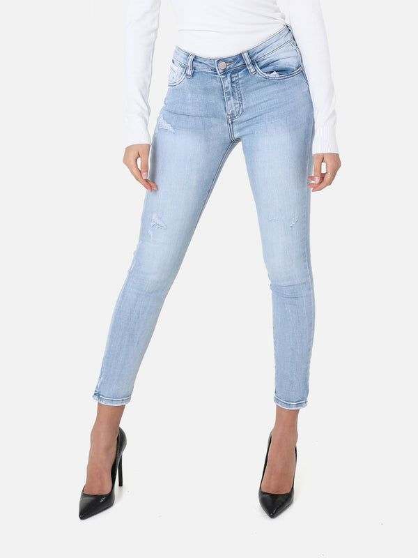 Skinny Bleached Jeans