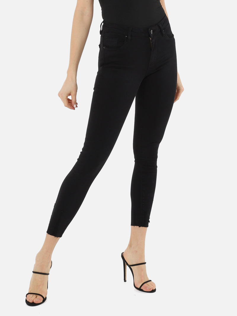 Skinny Crop Jeans - Black