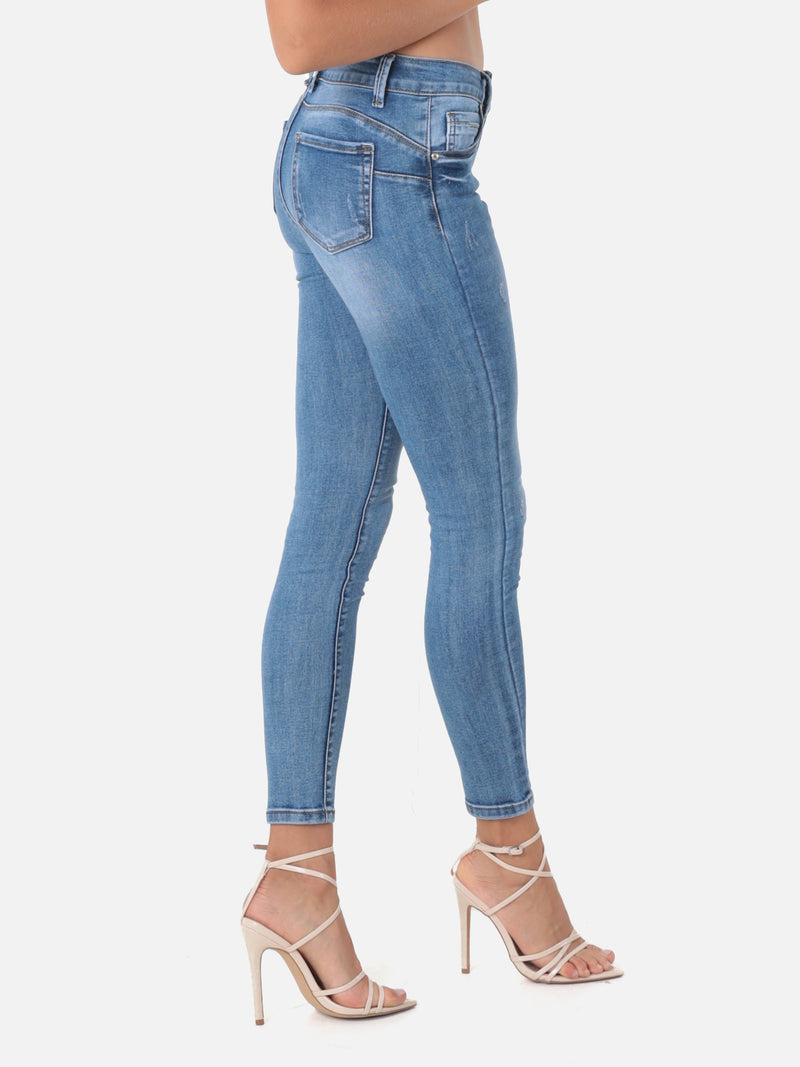Skinny Push Up Jeans