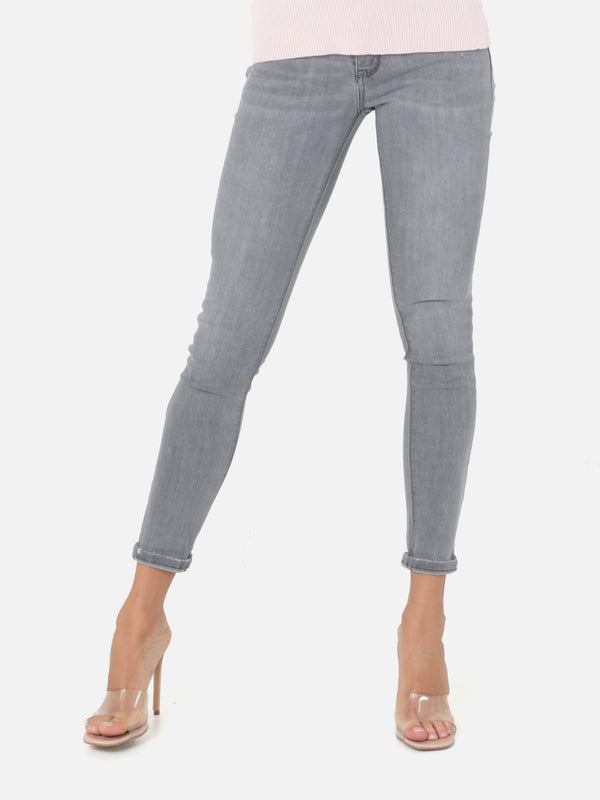Skinny Push Up Jeans - Grey