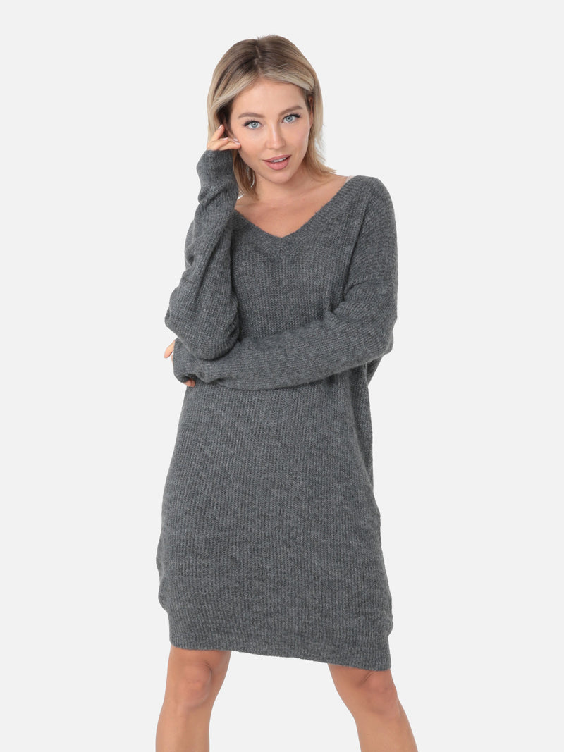 Oversize Strickkleid