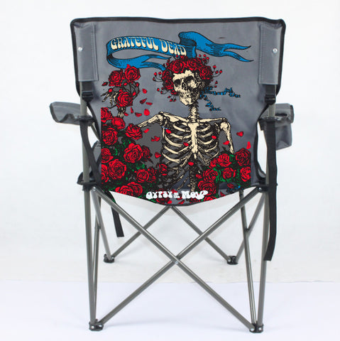 d. $34.99 Grateful Dead Bertha Camping Chair