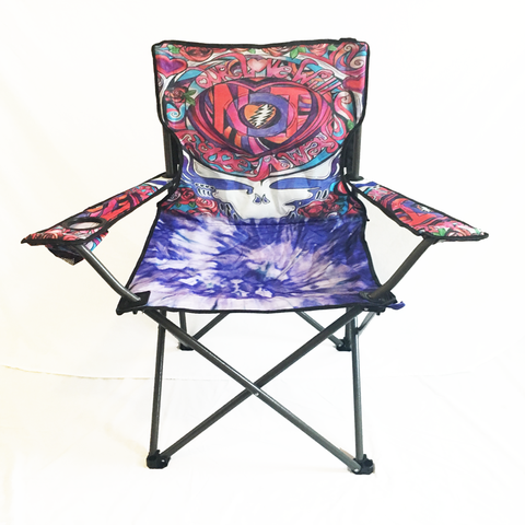 b. $44.99 Grateful Dead Not Fade Away Camping Chair