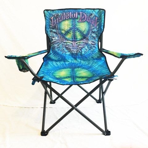 a. $44.99 Grateful Dead Peace Stealie Camping Chair