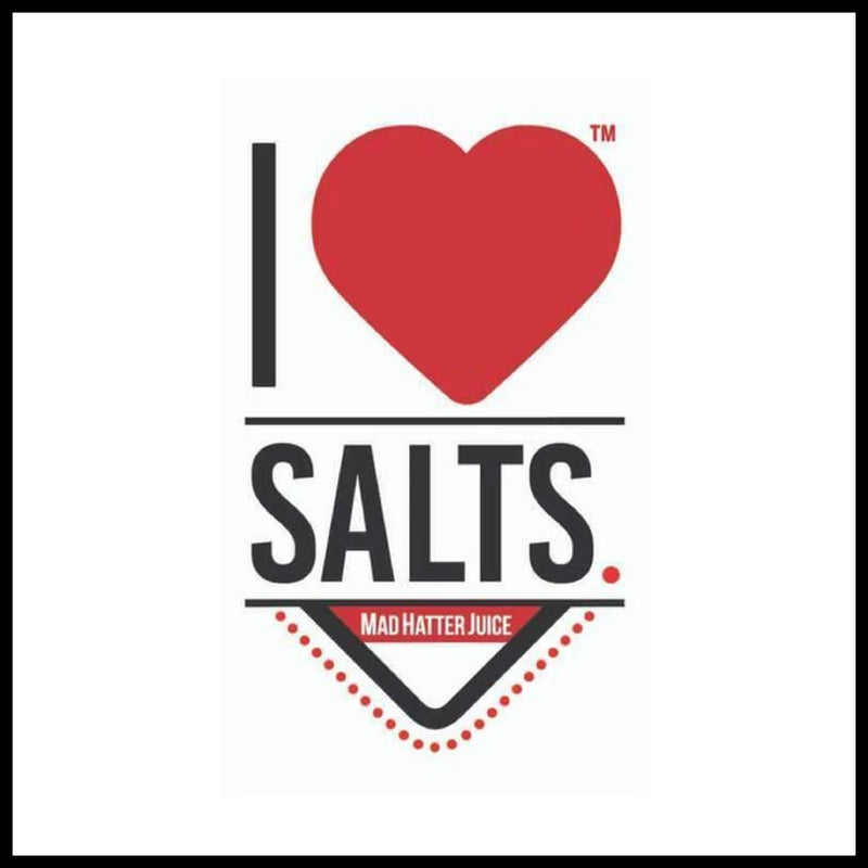 I Love Salts by Mad Hatter E-Juice