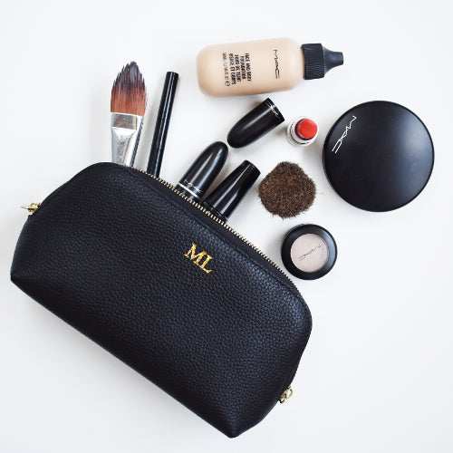 BLOOM COSMETICS CASE- Black