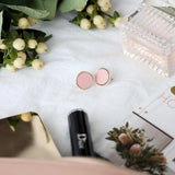 POPPY EARRINGS - Blush