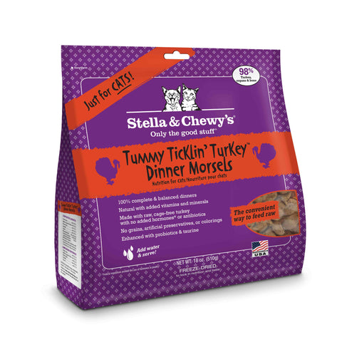 Stella & Chewy's Freeze Dried Raw Cat Dinners 18oz