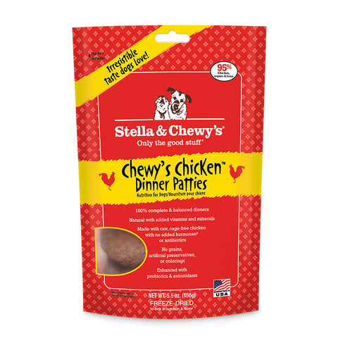 Stella & Chewy's Freeze Dried Raw Dog Dinners 5.5oz