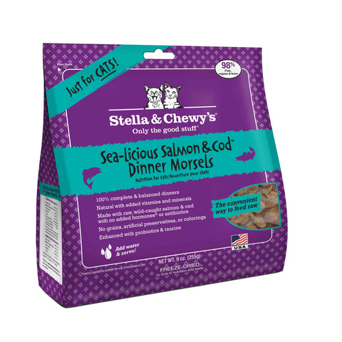 Stella & Chewy's Freeze Dried Raw Cat Dinners 9oz