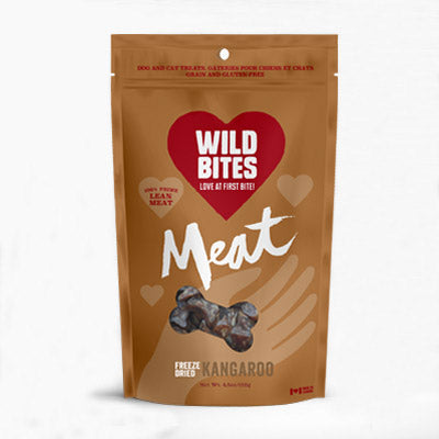 Wild Bites Freeze-dried Kangaroo 50g