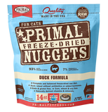Primal Freeze Dried Raw Cat Dinners 14oz