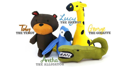 Beco Family Plush Toys