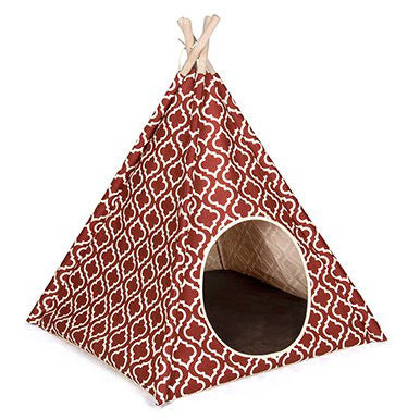 PLAY Dog or Cat Teepee House Bed