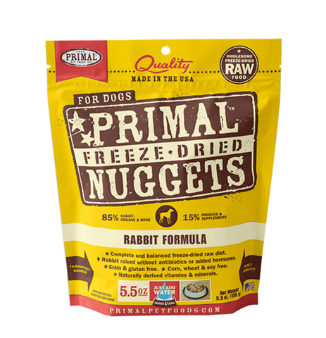 Primal Freeze Dried Raw Dog Dinners 5.5oz