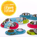 Messy Mutts Double Feeder For Dogs