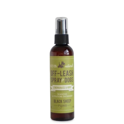 Black Sheep Organics Lemongrass & Mint Bug Spray 4oz