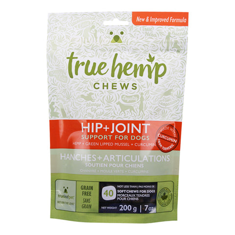 True Hemp Hip+Joint Chews For Dogs