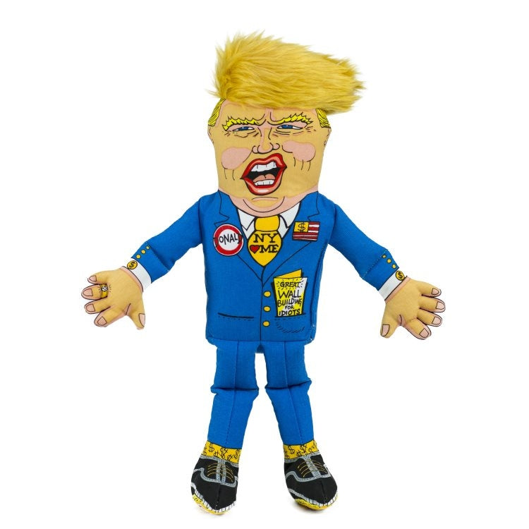 Dog Toy President Parody Donald