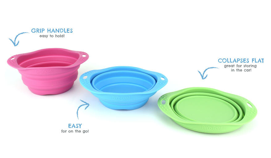 Beco Travel Collapsible Bowl