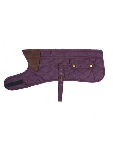 Barbour Quilted Dog Coat with Fleece