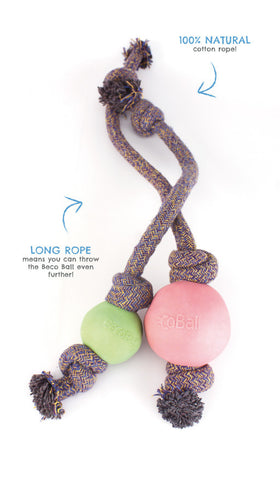 Beco Ball on Rope Toy