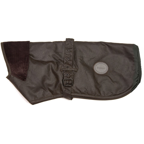 Barbour New Wax Dog Coat with Fleece