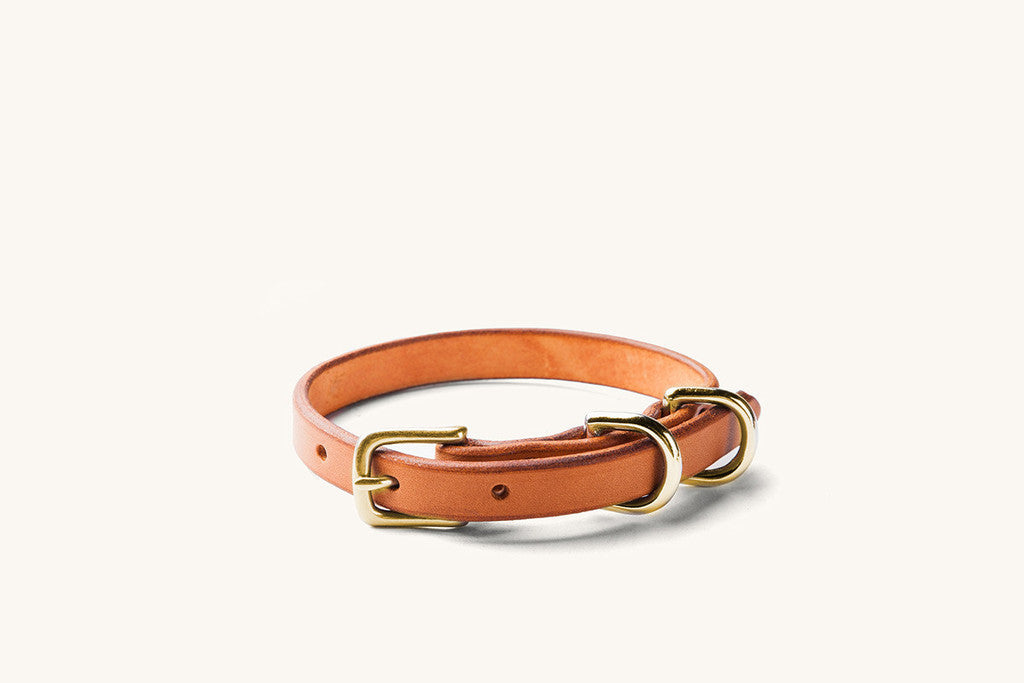 Tanner Goods Leather Collar