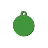 Anodized Aluminum Circle Dog Tag
