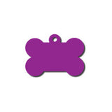 Anodized Aluminum Bone Dog Tag