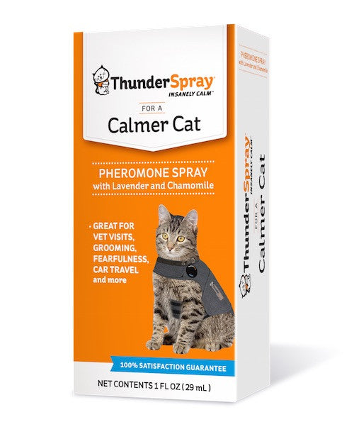 ThunderSpray Pheromone Calming Aid For Cats
