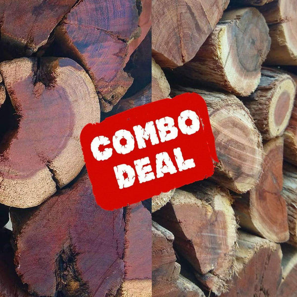 Double Trouble Hardwood Combo - Order per 500KG + 5KG Bag FREE! - Wood Monkeys