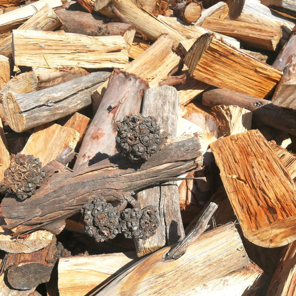 Spider Gum Firewood - Order per 5 or more Large Bulk Bags - Wood Monkeys