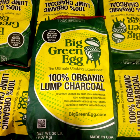 Big Green Egg All Natural Lump Charcoal - 9KG Bag - Wood Monkeys